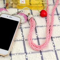 Hotsell Bling Crystal Lanyard ID Badge Cell Phone Retractable Reel Holder Key