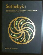 Auction Catalogue Sotheby's London Journey of a Cotswold Antiquarian 10/30/07