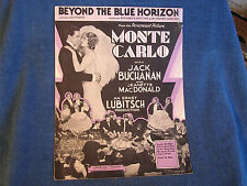 Beyond the Blue Horizon from Film Monte Carlo/Gambling Equipment Cover Photos