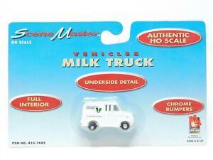 HO 1/87 Scale Life-Like 433-1645 Greenspring Creamery Milk Truck Vehicle SEALED