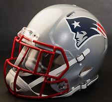 ***CUSTOM*** NEW ENGLAND PATRIOTS NFL Riddell Full Size SPEED Football Helmet
