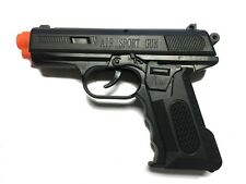M-11 Spring Airsoft Gun Pistol Police Toy Air Sport Hand Gun 6mm BB BBs (Black)