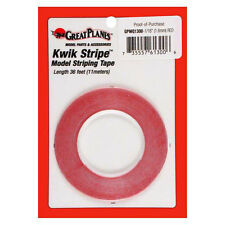 "GREAT Planes Striping Tape Red 1/16"" (1.5 mm) - T-GPMQ 1300"