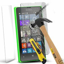 100% Genuine Tempered Glass Film Screen Protector for Microsoft Lumia 435
