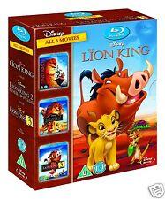 The Lion King Trilogy (Blu-ray)~~~Lion King, Simba's Pride, Hakuna Matata~~~NEW