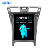"""12.1"""" Tesla Vertical Screen Android 8.1 Car DVD Player for Lexus LS460 07-15 GPS"""