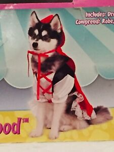 Rubies Pet Shop Red Riding Hood Dog Costume Size XS