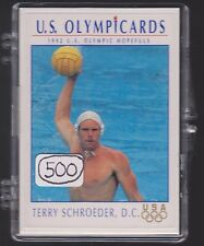 (500) 1992 US OLYMPIC HOPEFULS TERRY SCHROEDER WATER POLO CARDS #99 ~ GIANT LOT