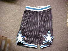 NBA Orlando Magic Throwback Black Team Issued Game Shorts Adidas Size 5XL+4