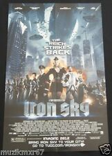 SDCC Comic Con 2012 EXCLUSIVE Iron Sky Movie promo poster THE REICH STRIKES BACK