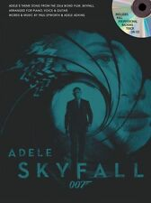 Adele Skyfall 007 James Bond Theme Play Piano Guitar PVG Single Sheet Music & CD