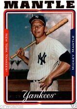 Rookie Mickey Mantle Original Single Baseball Cards