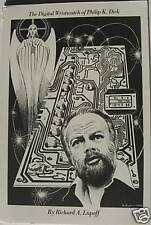 Digital Wristwatch of Philip K Dick by Richard Lupoff  Signed / LTD #282