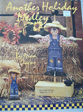 Another Holiday Medley Craft Tole Country Painting Pattern Book Nina Owens Cat