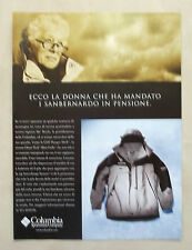A986-Advertising Pubblicità-1999 - COLUMBIA SPORTSWEAR COMPANY