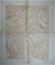 San Cristobal Carson Peak CO Quad USGS Topographical Map Hinsdale County 1927