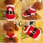 Costume Noël Pour Animaux Chien Chat Manteau A Capuche Pull Vêtements Chaud