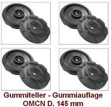 Gummiteller für Hebebühne D. 145 mm - Gummiauflagen - Auflageteller OMCN