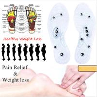 1 Paar MindInSole Fußmassage Magnetische Akupressur Reflextherapie Einlegesohle