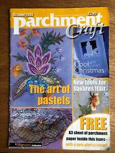 Parchment Craft Magazine October 2004