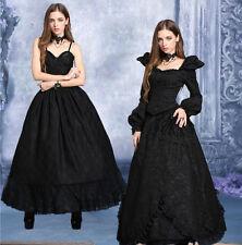Underskirt volume long gothic vampire victorian pinup princess Darkinlove