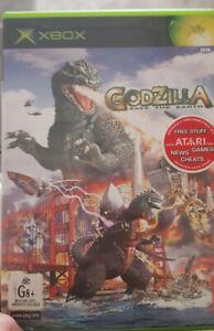 original xbox Godzilla save the earth for xbox - rare