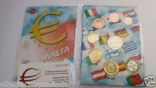 2014 MALTA 8 monete fdc UNC 3,88 EURO Malte Мальта マルタ 馬耳他
