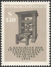 Austria 1964 Graphical Federation/Printing Press/Print/Communications 1v at1048a