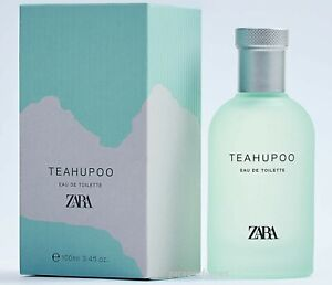 ZARA MAN TEAHUPOO MEN'S EAU DE TOILETTE EDT PERFUME 100ml 3.4oz NEW BOXED