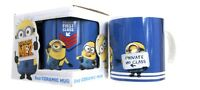NEW DESPICABLE ME 2 MINIONS BLUE CERAMIC MUG NOVELTY GIFT TEA COFFEE MUGS