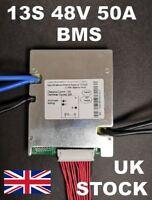 13S 48V 50A BMS ANN Li-ion Cell Battery Balanced bike E-bike UK seller UK stocks