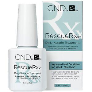 CND Rescue RXx - Daily Keratin Nail Treatment - 0.5oz/15ml - 90763