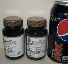 (2) Sea Buckthorn,  from Swanson >>> 120 caps, 400 mg each: contains Malic Acid