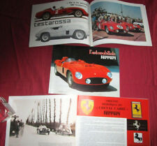 L'automobiliste N°65 : historique FERRARI , les 166 de course....