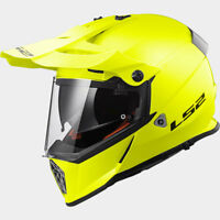LS2 CASCO OFF ROAD PIONEER MX436 KPA SOLID H V YELLOW