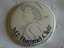 "M.I. HUMMEL CLUB 1991 GOEBEL 3"" Promotional Pin Back Button"