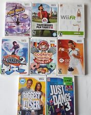 Wii Games Assorted Lot of 8
