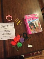 Vintage Barbie Mini-brights Knitting Kit Craft House
