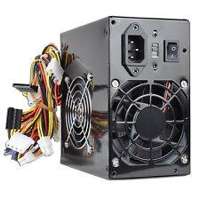 550W Watt ATX Black Beauty Power Supply 20+4 pin Dual SATA 2 Fans Logisys 535*