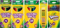 Crayola Pencils - Coloured Pencils, My First Easy-Grip, Silly Scent & Twistables