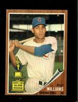 1962 TOPPS #288 BILLY WILLIAMS EXMT CUBS HOF *SBA2500