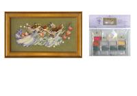 MIRABILIA Cross Stitch PATTERN and EMBELLISHMENT Pk Shakespeare's Fairies MD103