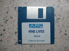 Commodore Amiga NINE LIVES  [No Box or Instructions] Disk only.