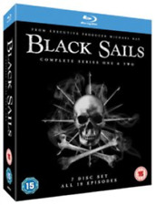 Toby Stephens, Zach McGowan-Black Sails: Season 1 and 2 Blu-ray NEW