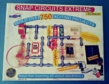 Complete Snap Circuits Extreme Model SC - 750 by Elenco Learning Experiments