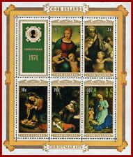 Cook Islands 1974 Christmas, ART, painting, miniatursheet ** SG 505, Sc 416a