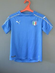 Italy Football National Soccer Shirt Jersey Euro 2016 Home Size Youth L 5/5