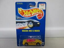 Hot Wheels Mazda MX-5 Miata Yellow No 172 (1)