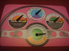 Vintage Waddingtons Formula One F1 Board Game Playing Pieces Speedo Instructions