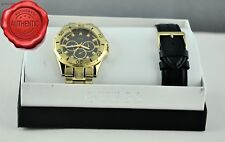 New Stylish Original Watch GUESS 2in1 Leather Stainless Steel New U10514G2